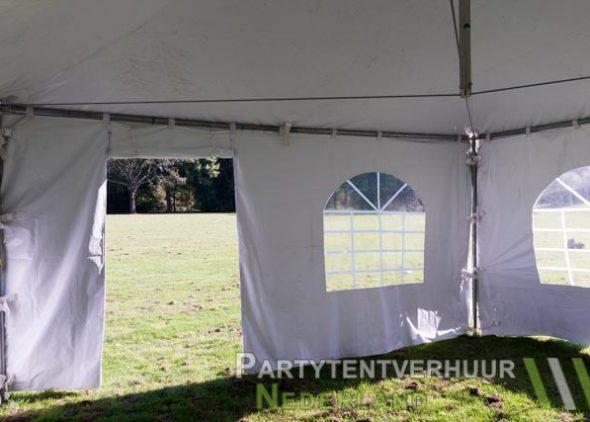 Pagodetent 4x4 meter binnenkant met deur huren in Middelburg
